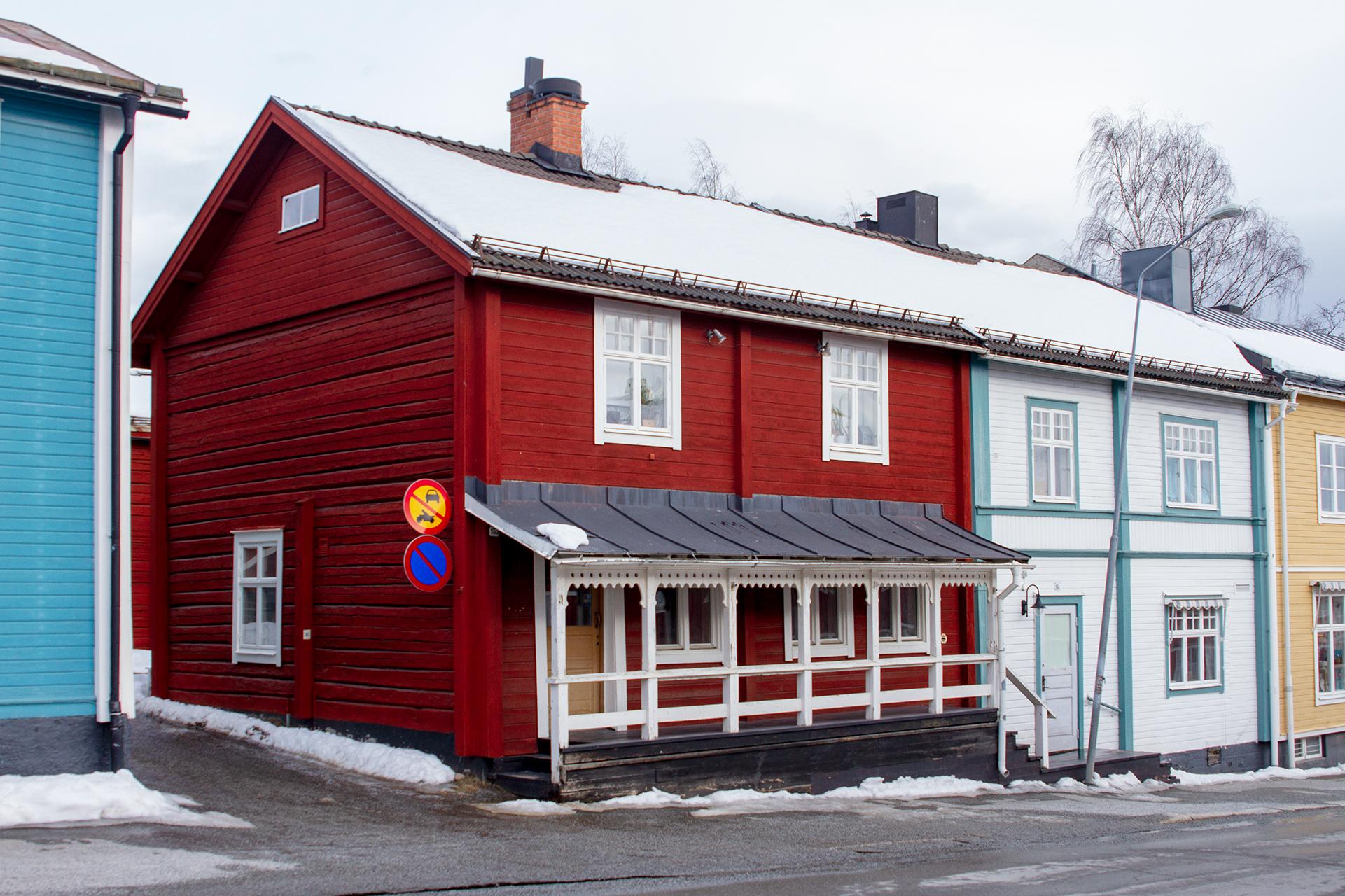 Fastighet i Vilhelmina Kyrkstad
